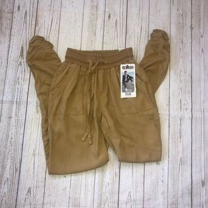 Rewash brand ruched jogger size small